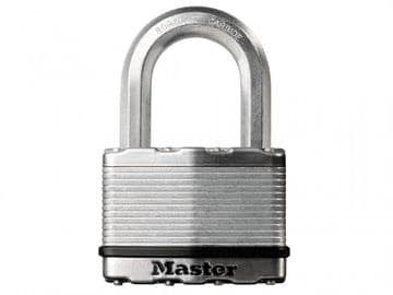 Excell Laminated Steel 50mm Padlock 4-Pin - 25mm Shackle
